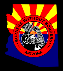arizona burners without borders logo